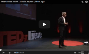 Vincent Keunen - TEDx Liège - Open Source Rebirth